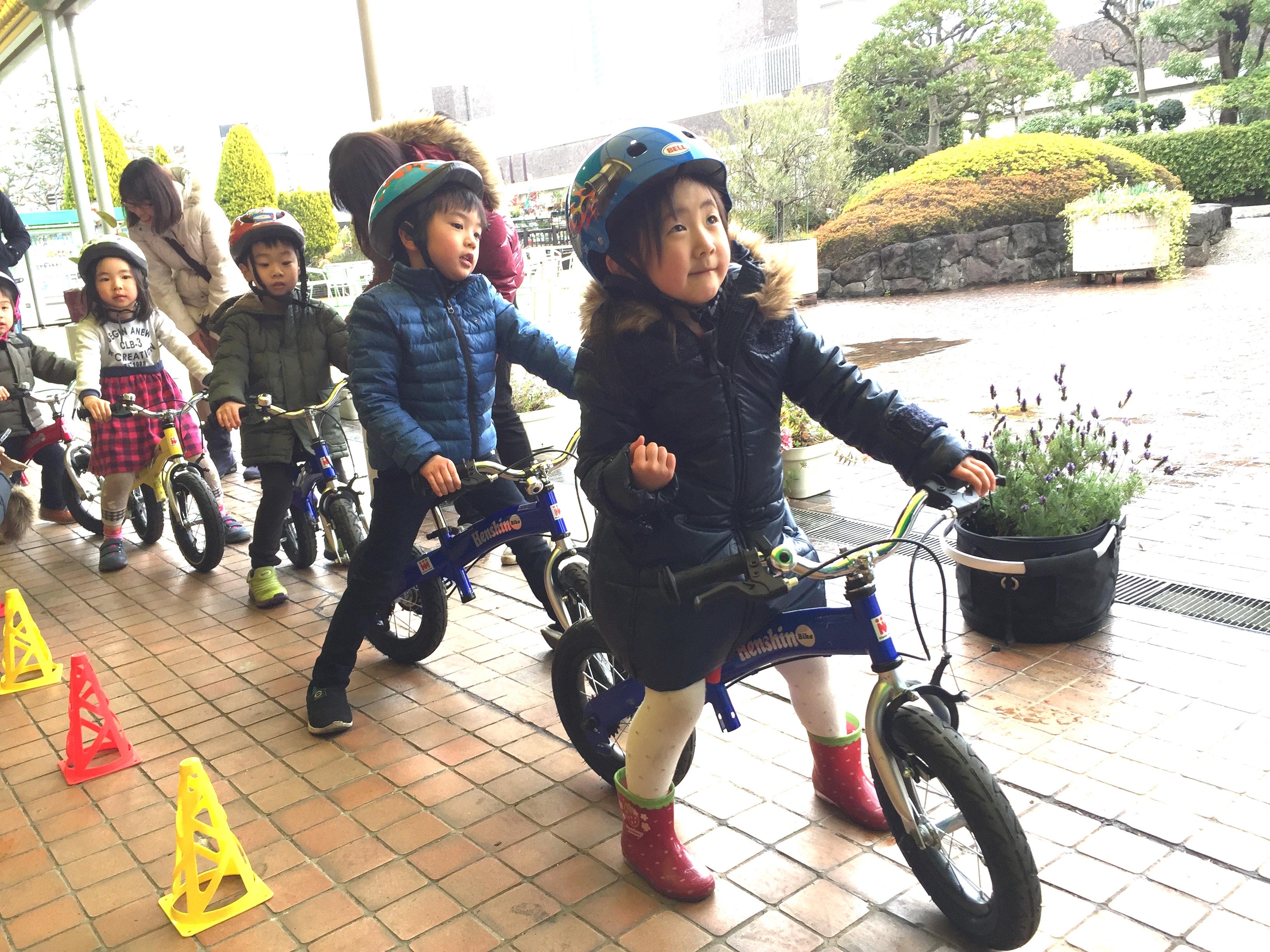 東急渋谷本店_自転車教室