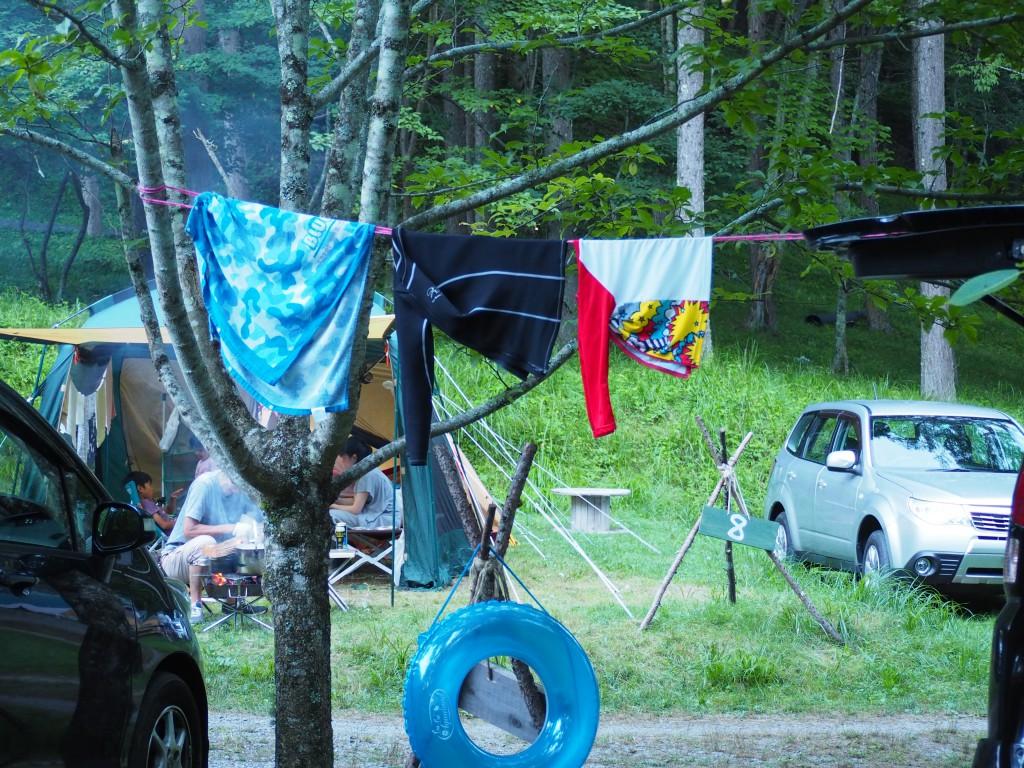 camp 小物 洗濯ロープ