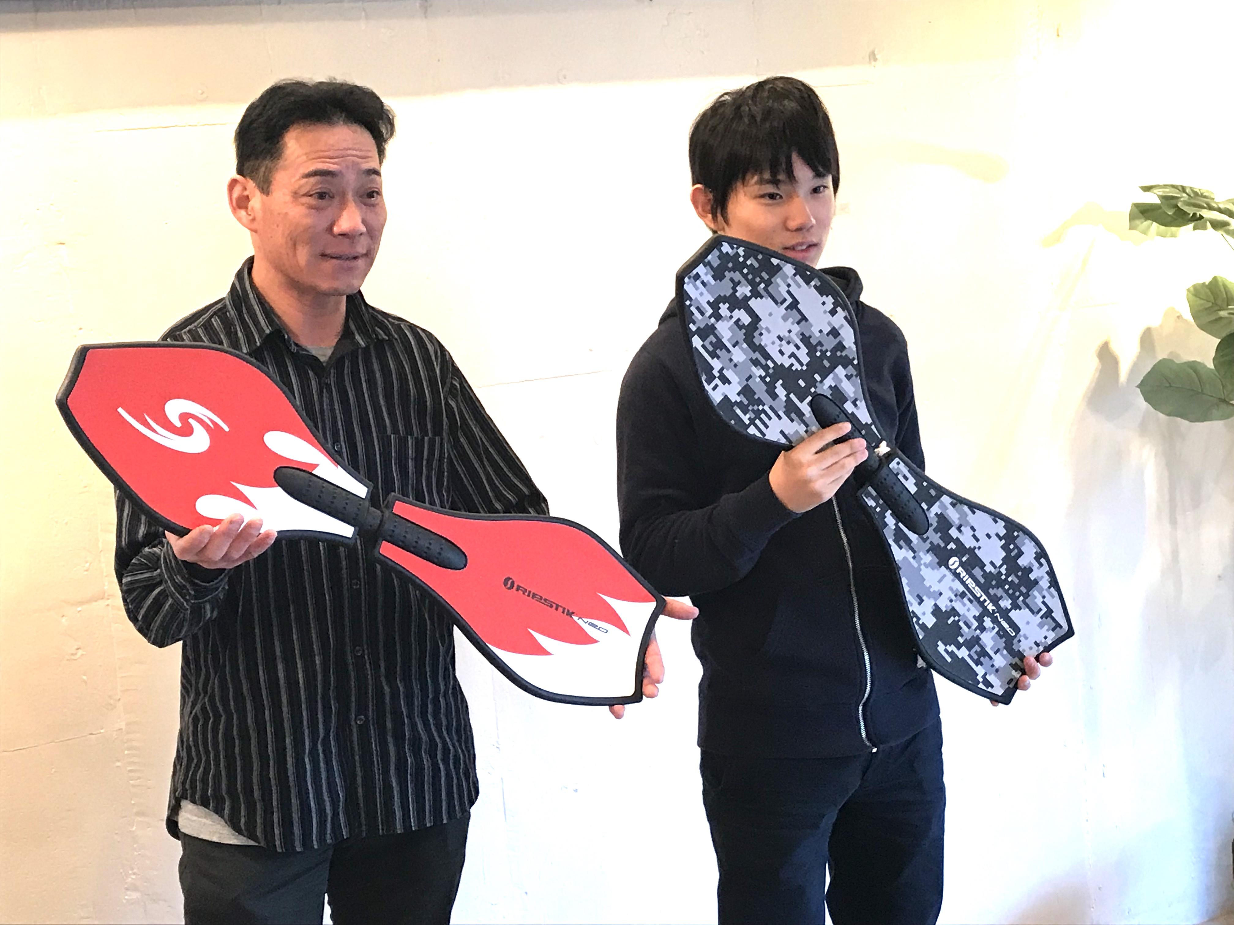 スノーボード 日本選手団 最年少代表國武大晃 ブレイブボード 体幹トレーニング コアトレーニング