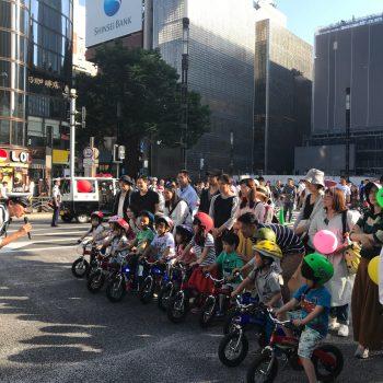 【交通安全教室】築地警察 × 30分で乗れる自転車教室|銀座柳まつりに登場