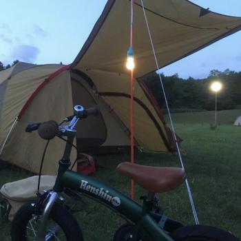 夏休み!キャンプに持っていきたい 自転車 へんしんバイク!