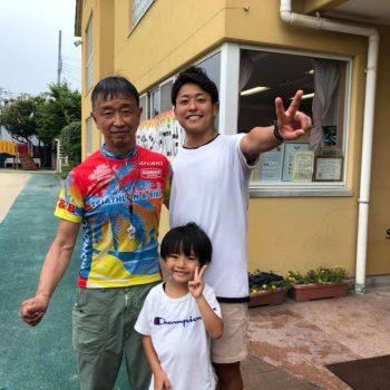 【パラトライアスロン宇田選手】親子|24時間テレビでキッズトライアスロンに挑戦!|へんしんバイク