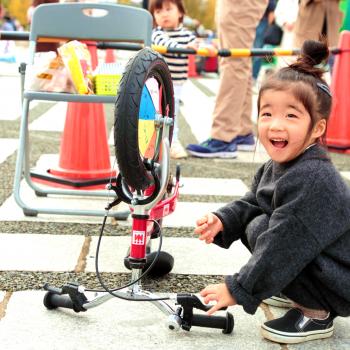 3歳でもブレーキができる!へんしんバイクでルーレットって何?!@駒沢オリンピック公園