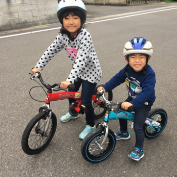 """補助輪で大失敗…小2の娘には""""へんしんバイク""""が正解だった!"""